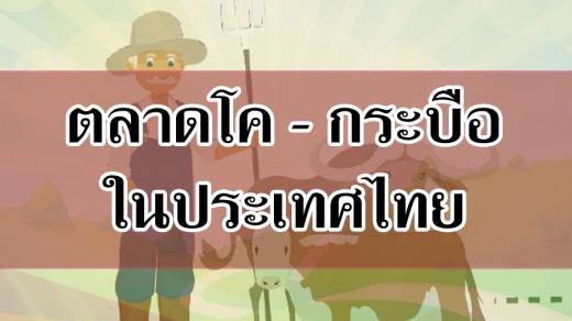 วิถีทางตลาดโค - กระบือในประเทศไทย ตามแนวคิดของจีรสิทธิ์ สงค์ประเสริฐ